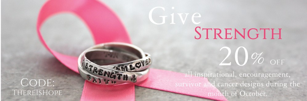 20% off cancer jewelry