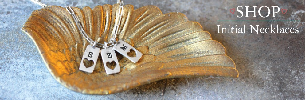 personalized initial necklaces