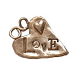 Bronze lots of love charm
