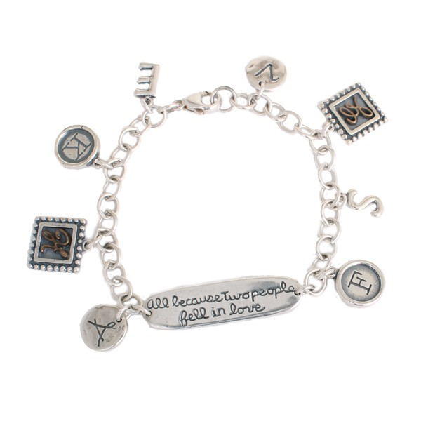All because two people fell in love bracelet