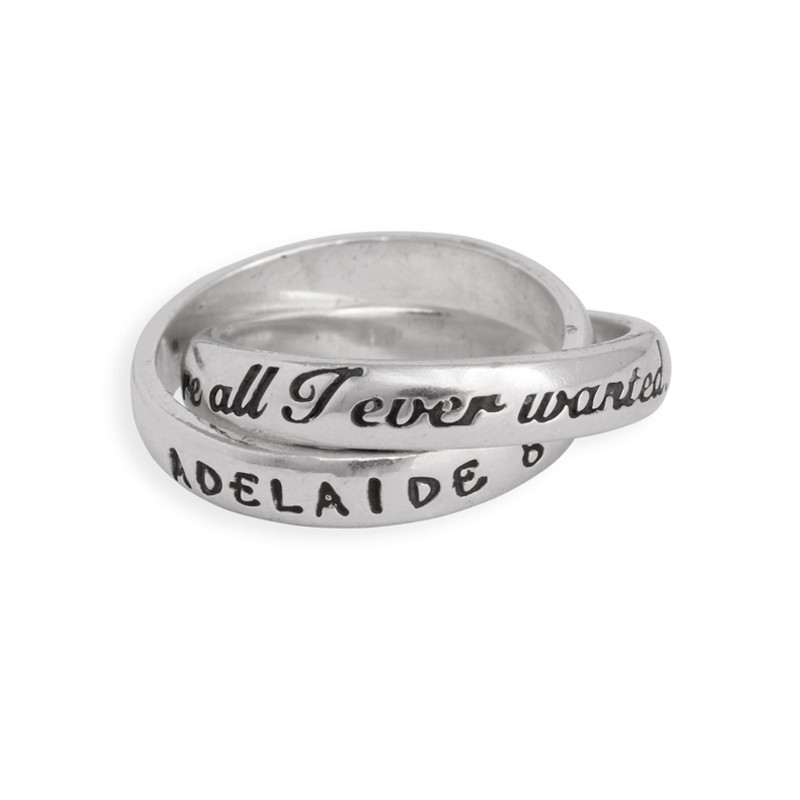 Ring for Grandma with Names - You're all I ever wanted