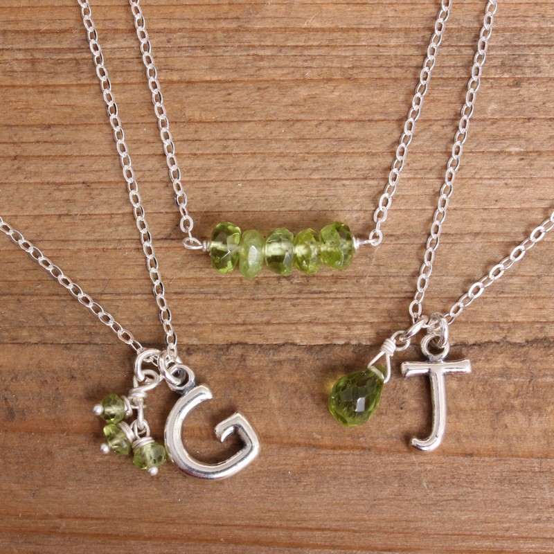 *SUMMER STEAL* August Birthstone Necklaces