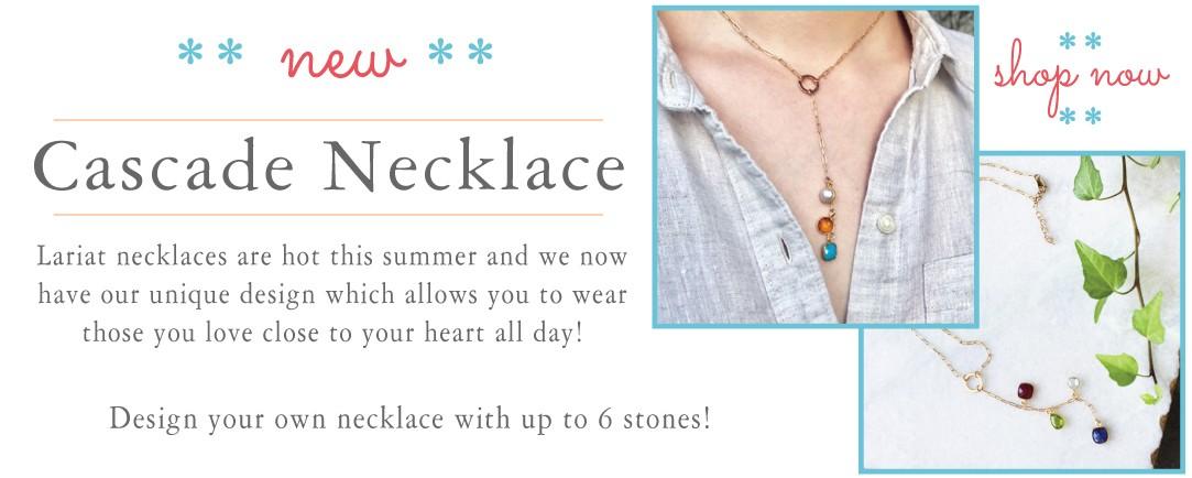 New Cascade Necklace