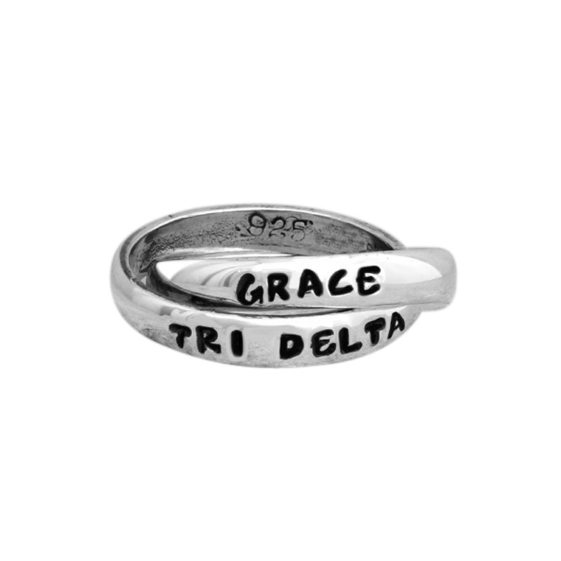 delta delta delta sorority name ring