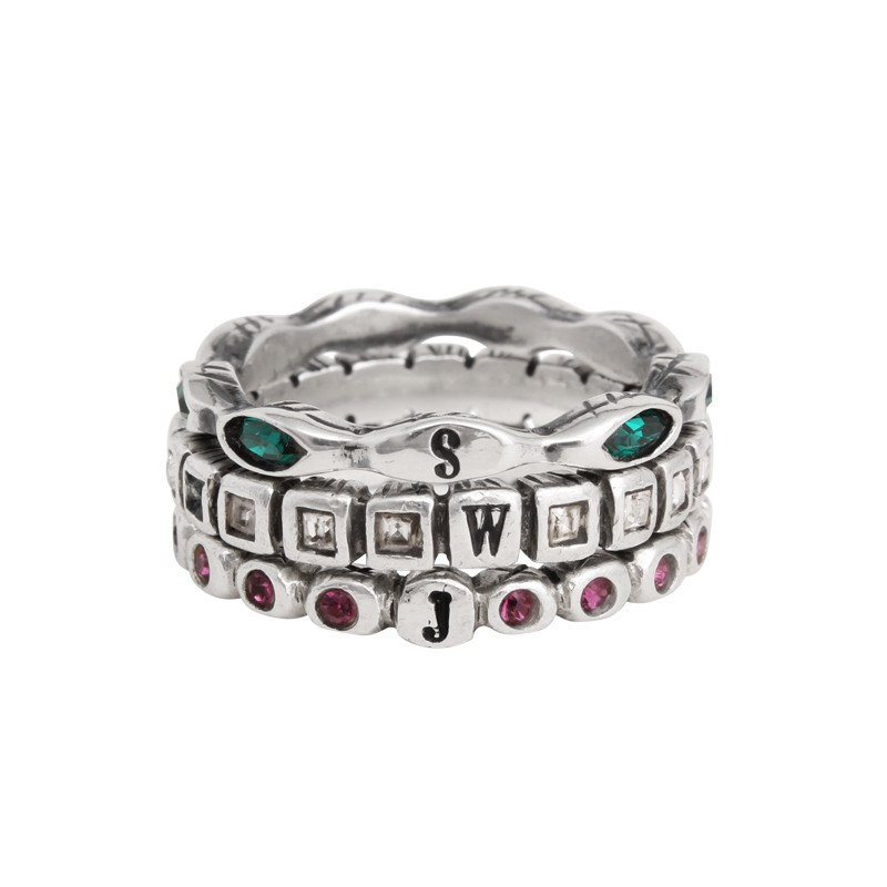 Design Your Own Ring: Design Your Own Stackable Birthstone Ring