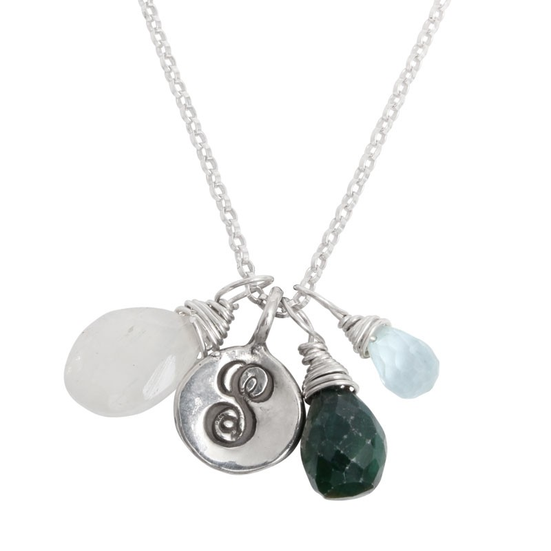 grandmother's birthstone necklace