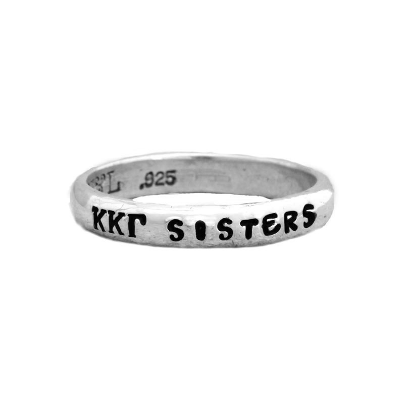 kappa kappa gamma sorority sister year band ring
