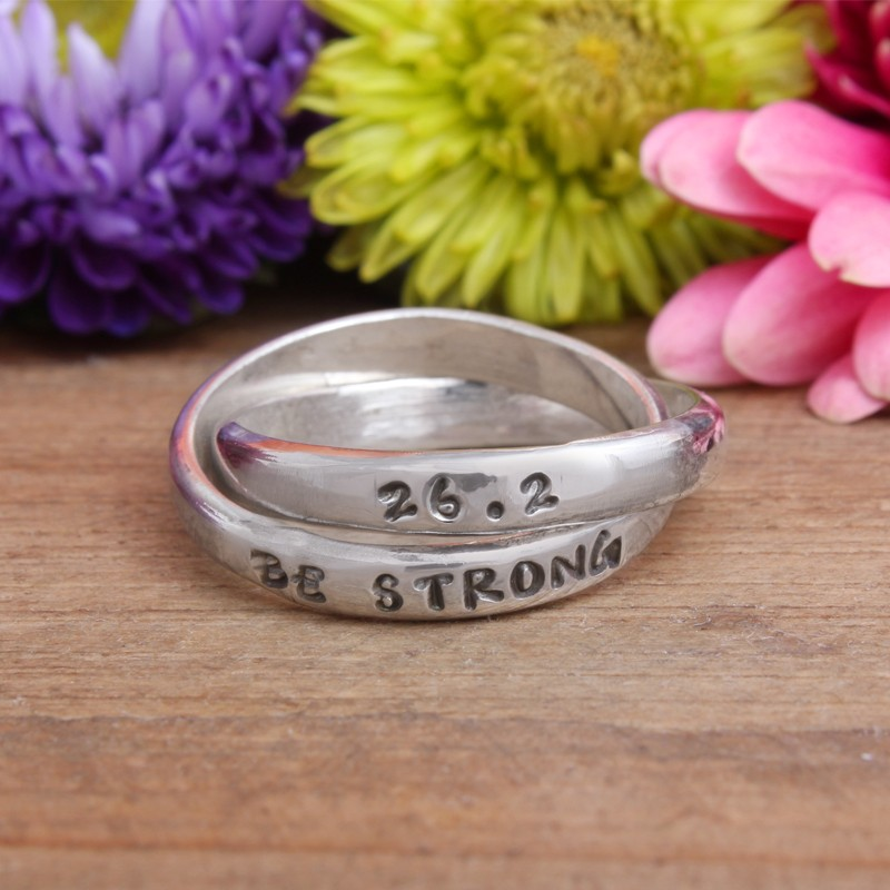 marathon runners ring be strong