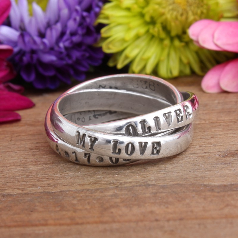 name dated love adoption mothers ring