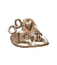 Bronze lots of love charm