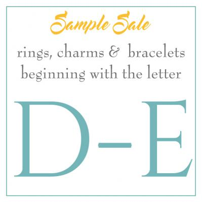 Sample Sale - D-E's