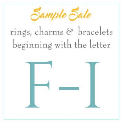 Sample Sale - F-I's