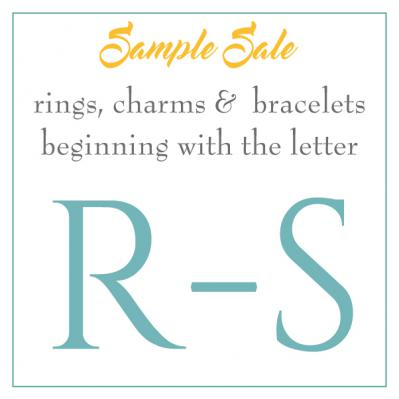 Sample Sale - R-S's