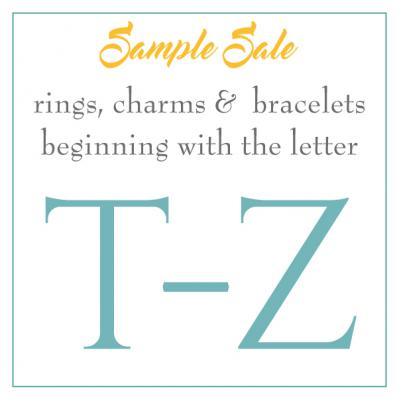 Sample Sale - T-Z