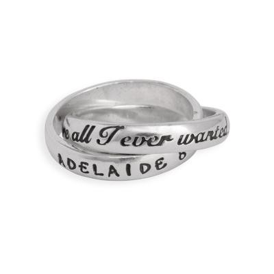 Grandmothers personalized ring - You're all I ever wanted