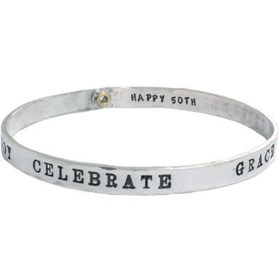 50th birthday gift, birthday bracelet