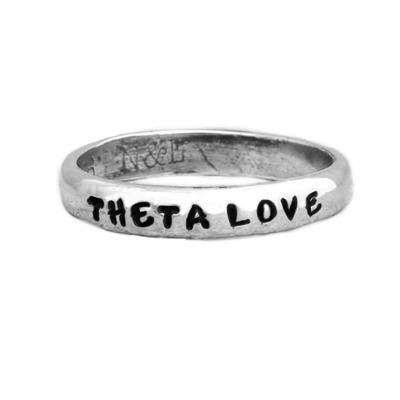 Kappa Alpha Theta Sorority ring personalized