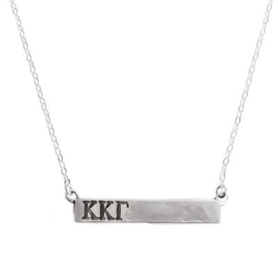 Sorority Bar Necklace Namplate