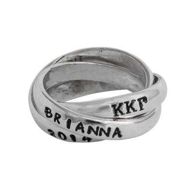 Kappa Kappa Gamma Sorority Rings, Triple Greek Ring