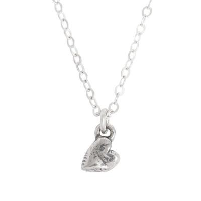 Mother of One heart charm necklace
