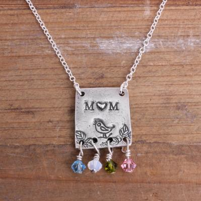 *SALE* Mama Bird / Love Necklace