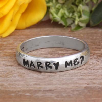 unique engagement ring