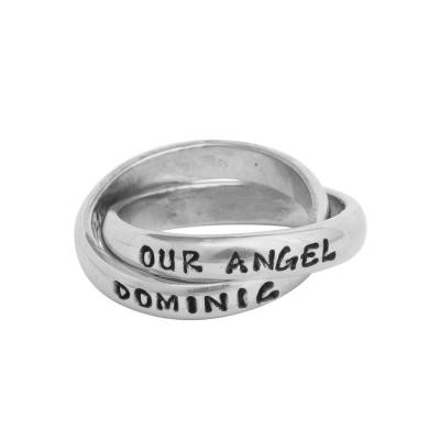 memorial miscarriage bereavement name ring