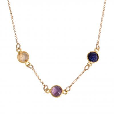 gold birhtstone necklace for mom