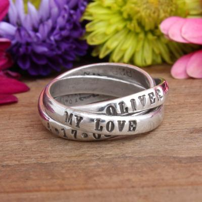 Mother's Ring Personalized for One Child
