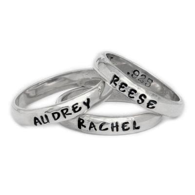 Stackable Mothers Rings Single