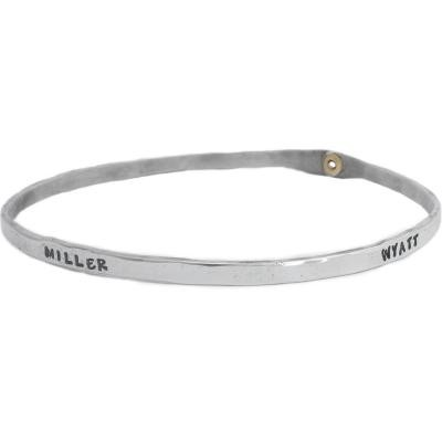 Grandmothers bracelet with names - Single