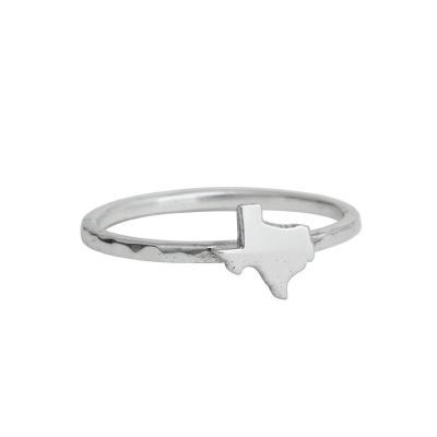 state of texas silver ring