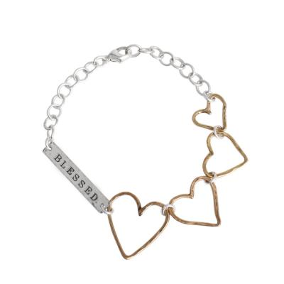 mothers bar bracelet personlized with name date