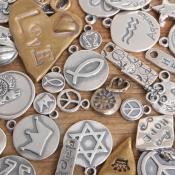 mixed sterling silver charms lot