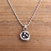 nest necklace for mom in sterling silver
