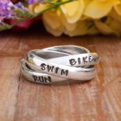Marathon Ring Runner's jewelry