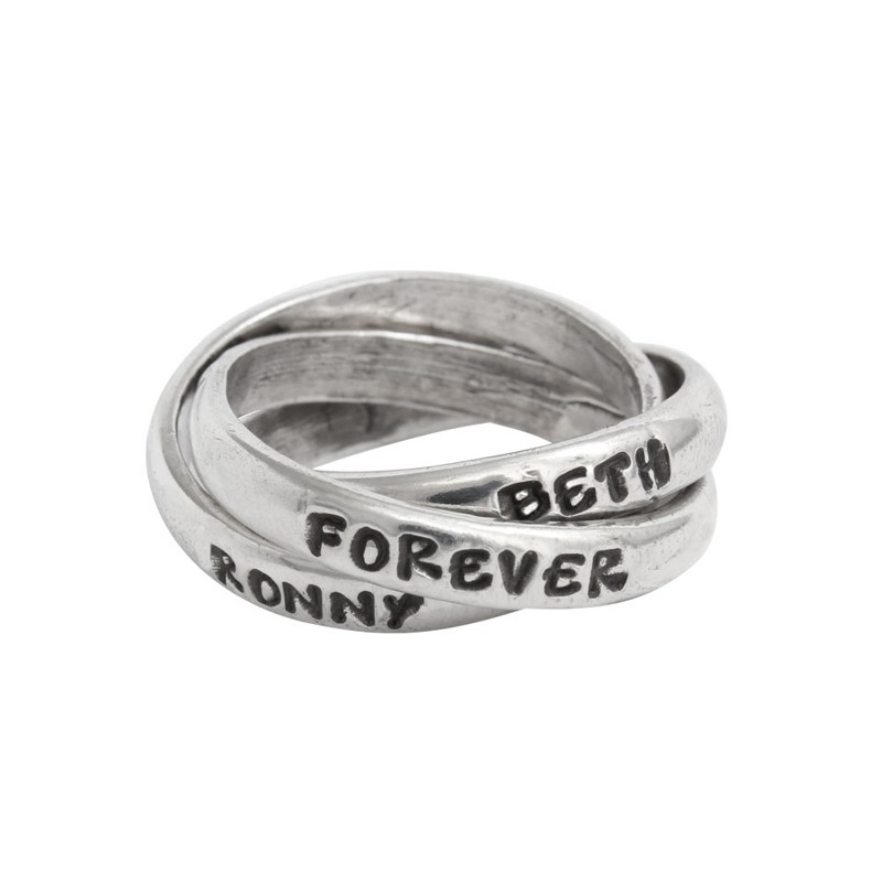 Forever Love Couple Promse Ring