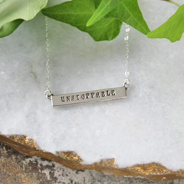 unstoppable necklace