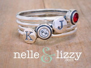 initial rings, birthstone rings, childrens rings, mothers rings
