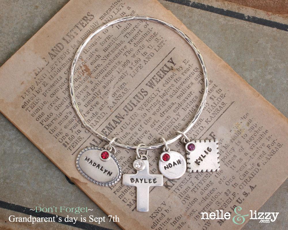 grandparents bangle bracelet-grandparents day reminder