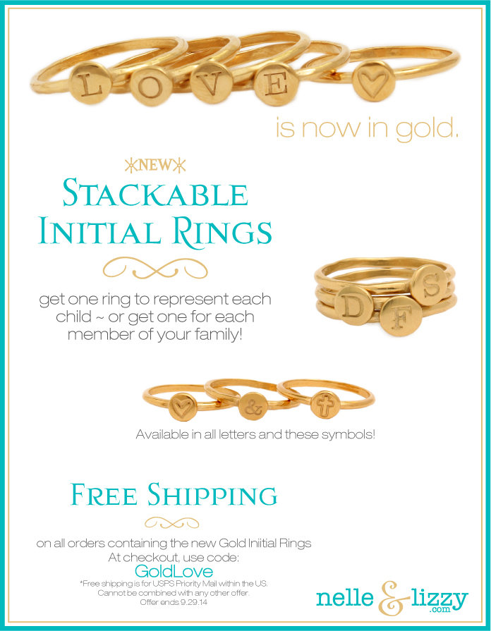 gold-initial-rings