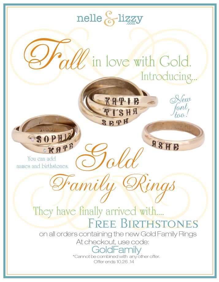 Gold-Family-Rings