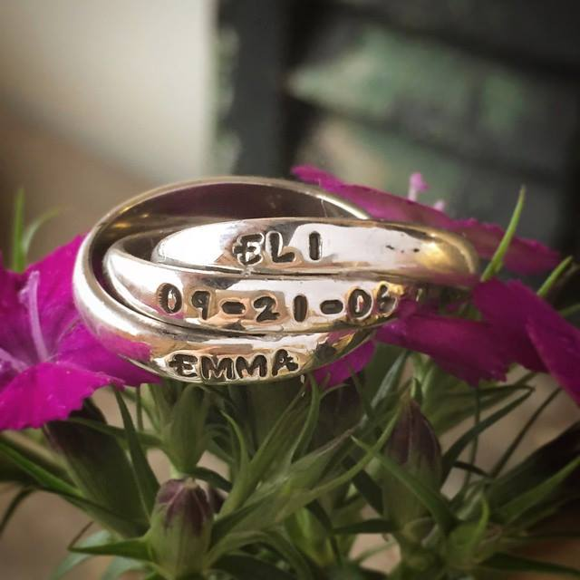 mothers family name ring from nelle and lizzythers family name ring from nelle and lizzy