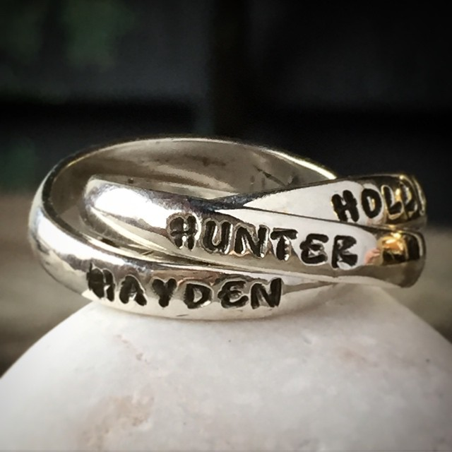mothers grandmother family name ring