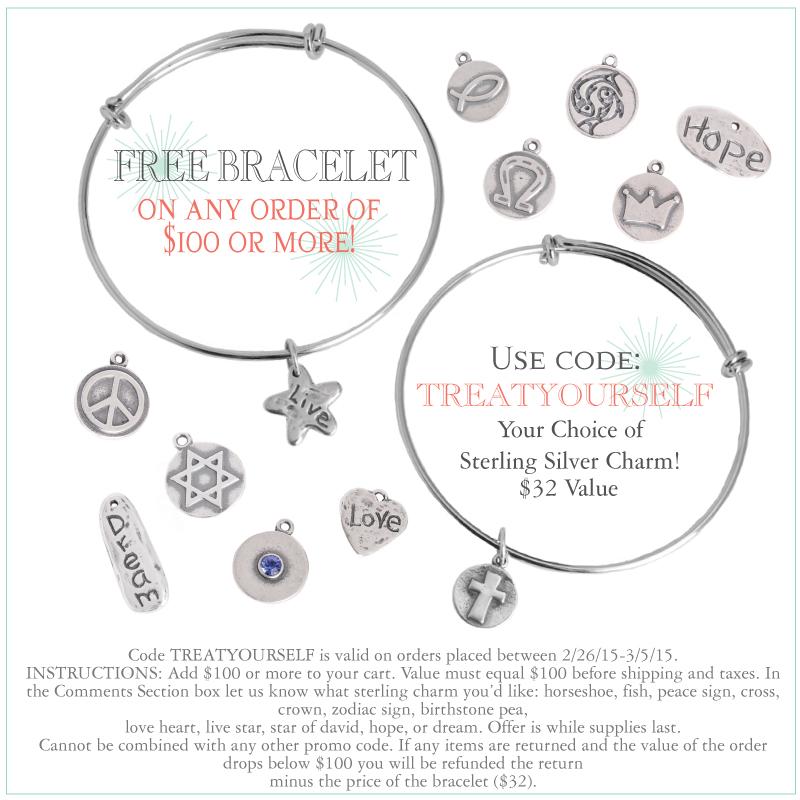 free personalized bangle bracelet