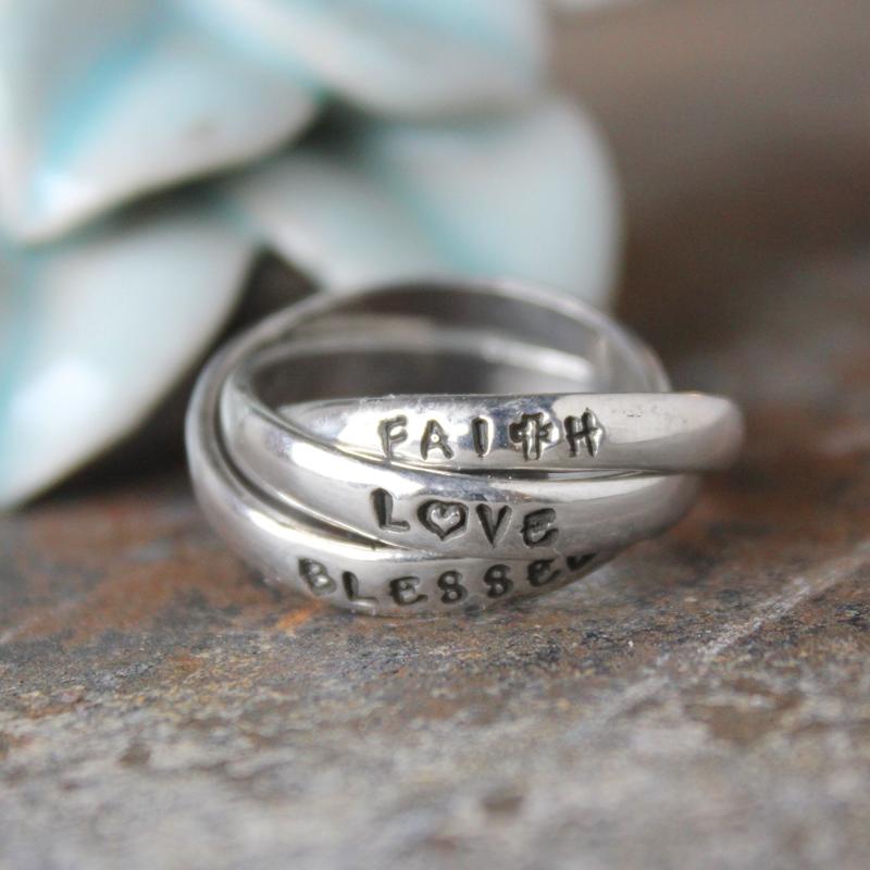 blessed faith love copy