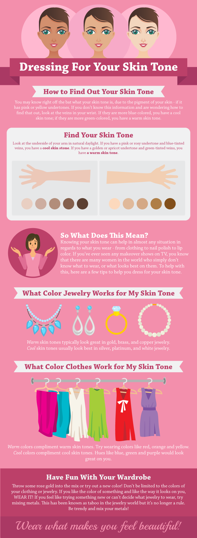find out how to dress for your skin tone