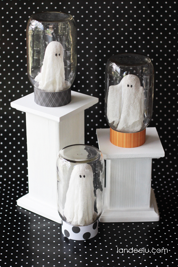 How to make ghost Halloween decoration
