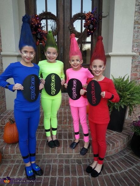 Crayon Halloween costume