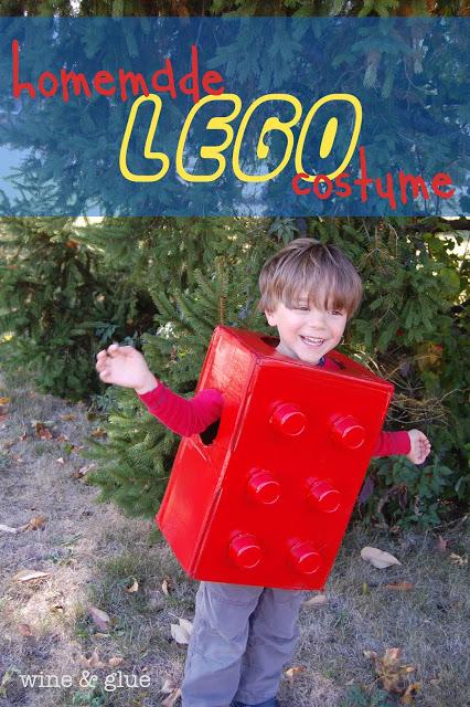 Lego costume for Halloween